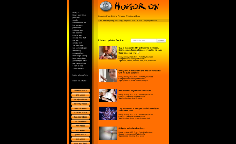 Humoron Review - Best Porn Sites