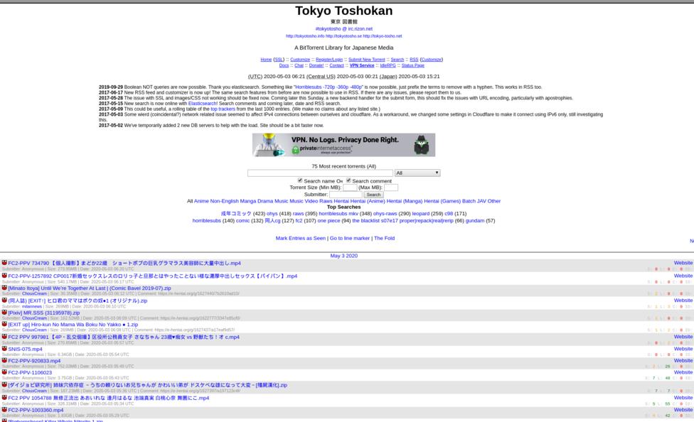 TokyoToshokan